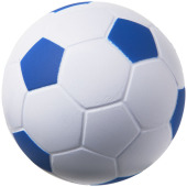 Football anti-stress bal - Koningsblauw/Wit