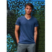 Triblend V-neck T-shirt men