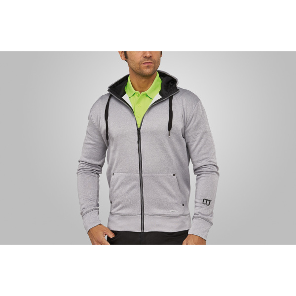 Macseis Sweater Hooded Creator for him Grey Mel