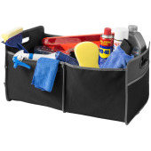 Accordion kofferbak organizer - Zwart