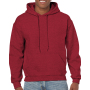 Gildan Sweater Hooded HeavyBlend for him antique cherry red XL