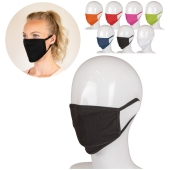 5 Reusable face masks in various colors