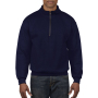 Gildan Sweater 1/4 Zip HeavyBlend Navy S