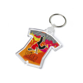 Acrylic Sports Keyfob 54x67mm doorzichtig