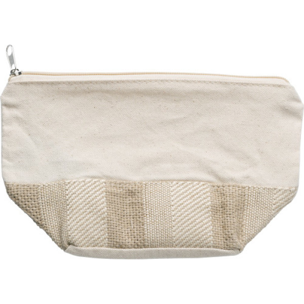 Cotton toiletry bag