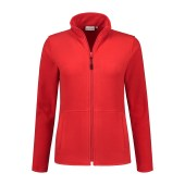 SANTINO Fleecejack Bormio Ladies Red L