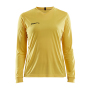 Craft Squad solid jersey LS wmn Swe. yellow xxl