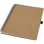 Cobble A5 wire-o gerecycled kartonnen notitieboek met steenpapier