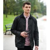 Banbury Wax Jacket, Black, 3XL, Regatta
