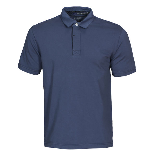 Amherst Vintage Polo Faded blue S