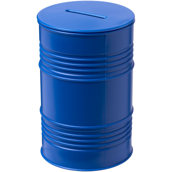 Banc oil drum money pot