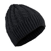 HARVEST BREWTON CABEL HAT BLACK