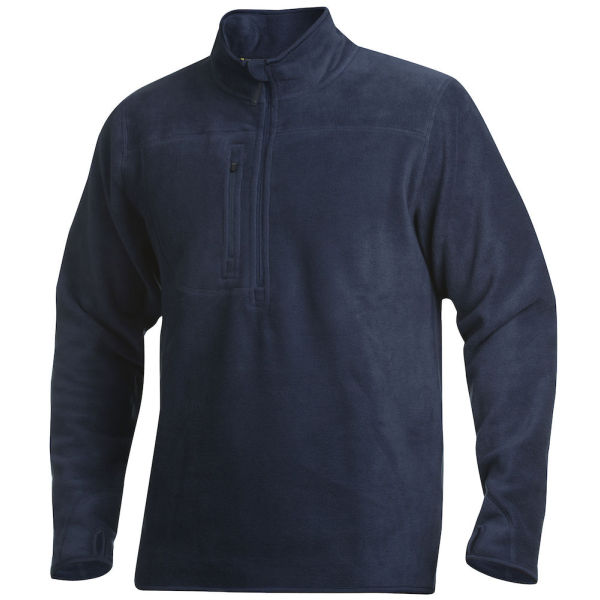 2319 FLEECE HALF ZIP NAVY XS