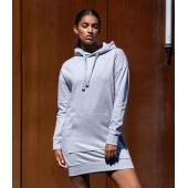 AWDis Ladies Hoodie Dress, Heather Grey, L, Just Hoods