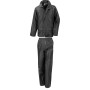 Core rain suit black s