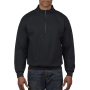 Gildan Sweater 1/4 Zip HeavyBlend black XXXL