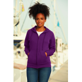 Fruit of the Loom Lady-Fit Lightweight Hooded Sweat Jacket