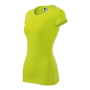 Glance T-shirt Ladies lime punch 2XL