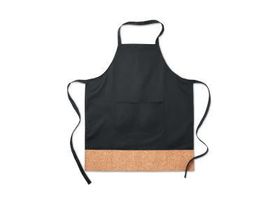 KITAB CORK - Apron with cork hem