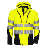 PROJOB 6419 SHELL JACKET HV YELLOW/BLACK S