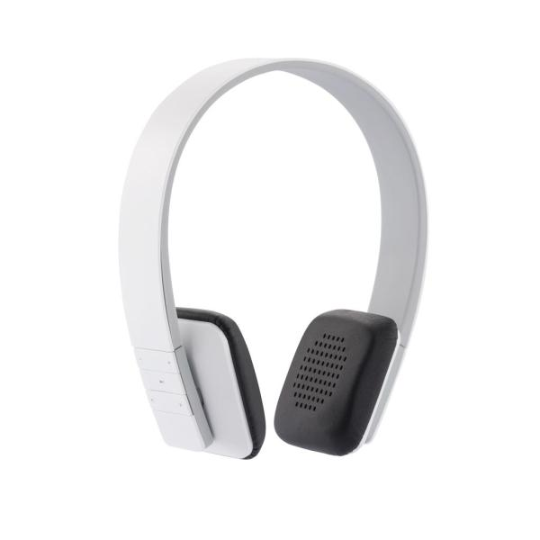 Stereo wireless headphone, white