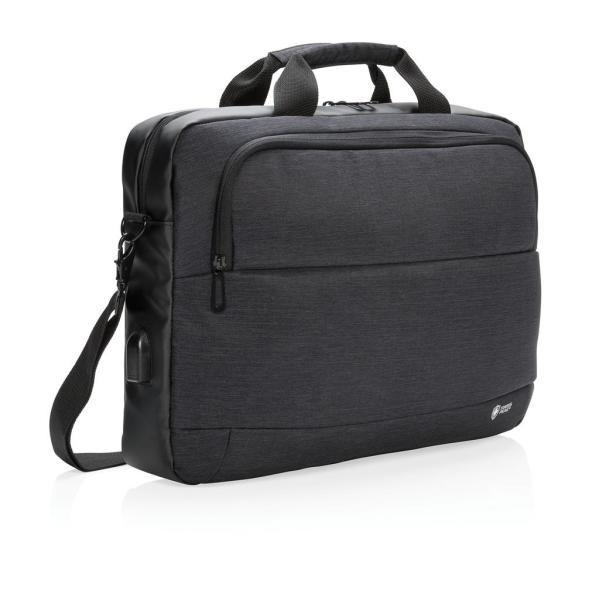 "Swiss Peak modern 15"" laptop tas"
