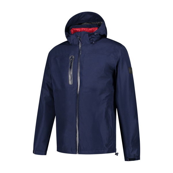Macseis Jacket High Tech Performer Blue Navy/RD