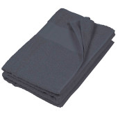 Badhanddoek dark grey 'one size
