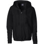 Heavy blend™ ladies' full zip hooded sweatshirt black xxl