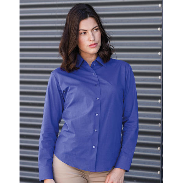 Ladies' Classic Oxford Shirt LS