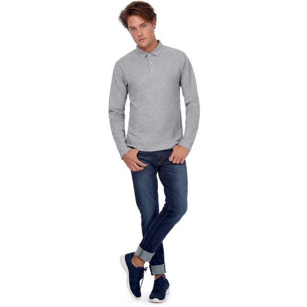 Id.001 men's long-sleeve polo shirt