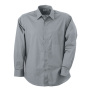 Men's Shirt Classic Fit Long koud-grijs