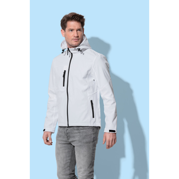 Stedman Jacket Hooded Softshell for him