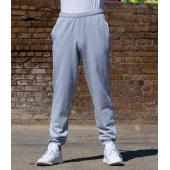 AWDis College Cuffed Jog Pants, Charcoal, L, Just Hoods