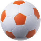 Football anti-stress bal - Oranje/Wit