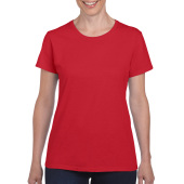 Gildan T-shirt Heavy Cotton SS for her Red S