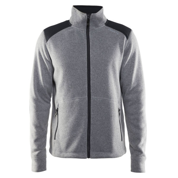 Noble Zip Jacket Heavy Knit Fleece Men