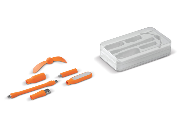 USB Connector Plug 'N Play oranje