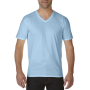 Gildan T-shirt Premium Cotton V-Neck SS for him Light Blue XXL