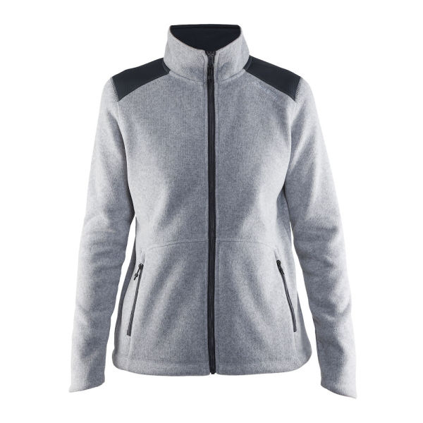 Craft Noble Zip Jacket Heavy Knit Fleece Women Hoodies & Sweatshirts