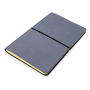 Moderne deluxe softcover notitieboek A5, donkerblauw
