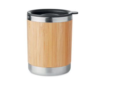 LOKKA - Tumbler S/S and bamboo 250ml