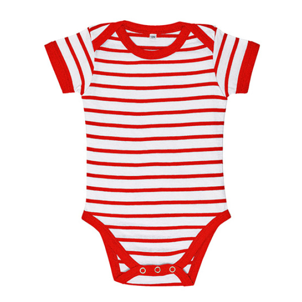 Baby Striped Bodysuit Miles
