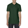 Gildan Polo Softstyle Double Pique SS for him Forest Green 4XL