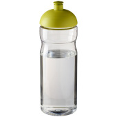 H2O Base® 650 ml bidon met koepeldeksel - Transparant,Lime