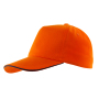 5-panel sandwich cap WALK - oranje