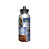 Aluminium 600ml Silver Drink Bottle alaminium
