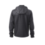 Men's Jacket Teddy Lined - zwart/zwart