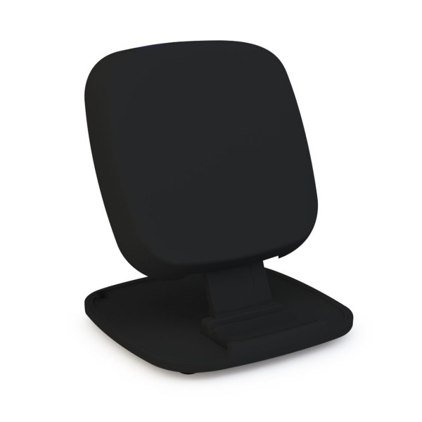 ZENS Fast Wireless Charger Stand  - black