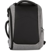 graphite grey heather / black one size